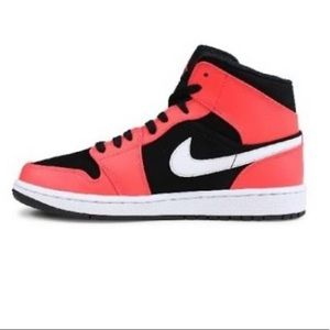 Air Jordan 1 Mid Infrared Size 8 NEW